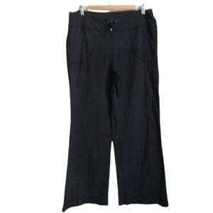 LULULEMON Grey Luon Leggings Wide Leg Yoga Pants